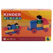 IndiPlay Kinder Blocks First Builders Zoomin Vehicles for Kids