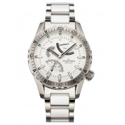 Herenhorloge Jacques Lemans Zilverkleur::Wit