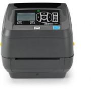 Stampante Zebra ZD500; termica diretta, trasferimento termico; internal zebranet® 10/100 print server/seriale rs-232 (db-9)/usb