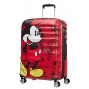 AMERICAN TOURISTER Disney Wavebreaker Trolley Mickey Comics 67cm Rosso