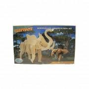 Bouwpakket hout olifant