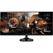 "Monitor Gaming LED IPS LG 25"", UltraWide, UWHD 2K, 2 x HDMI, Flicker Safe, 25UM58-P, Negru"