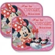 Set 2 parasolare cu ventuze 'Minnie Mouse'