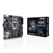Дънна платка Asus PRIME H310I-PLUS, H310, LGA1151, DDR4, PCI-E(DVI-D,HDMI), 4x SATA 6Gb/s, 1x M.2 Socket, 2x USB 3.1 Gen 1, Mini ITX