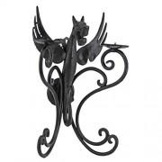 Design Toscano Castle Lámpara de Pared (Hierro), diseño de dragón