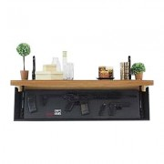 Tactical Walls 1242 Rls Rifle Concealment Shelf - 1242 Rls Rifle Concealment Shelf Early American/Bl
