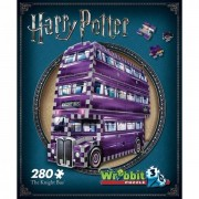 Wrebbit 3D Harry Potter The Knight Bus Jigsaw Puzzle - 280 Pieces