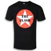tričko pánské CLASH - STAR BADGE - PLASTIC HEAD - RTCLA0217
