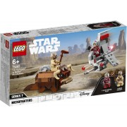 Lego Star Wars (75265). Microfighter T-16 Skyhopper vs Bantha