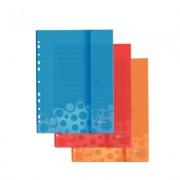 File din plastic, A4, cu arici, 3 culori/set, LEITZ Bebop