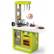Bucatarie electronica Smoby Cherry verde cu sunete
