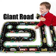 Qiyun Jigsaw Puzzles Children Educational Giant Road Jigsaws Floor Puzzle Toys as Gifts