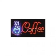 Reclama luminoasa cu leduri Coffee, 50 x 25 cm