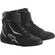 Alpinestars Fastback 2 Drystar Motorcycle Shoes Black White 42