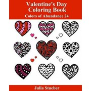 Valentine's Day Coloring Book: A Romantic Coloring Book Full of Hearts and Love, Paperback/Julia Stueber