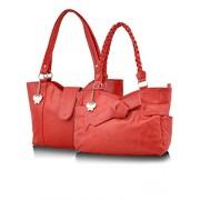 Butterflies Handbag (Red) (BNS CB018)