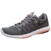Nike Women's Flex Fury 2 Cool Grey, Black, Atomic Pink, Anthracite and White Running Shoes -4 UK/India (36.5 EU)(4.5 US)