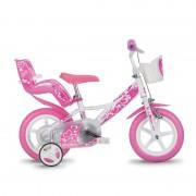 Bicicleta copii 12'' RLN - Inimioare