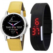 Jack Klein Elegant Analog And Digital Wrist Watches