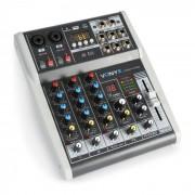 Vonyx VMM-K402 music mixer de 4 canales Bluetooth USB-Audio-Interface (Sky-172.585)