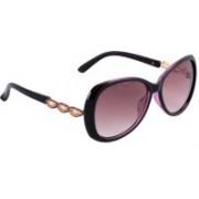 Royal Son Oval Sunglasses(Black)