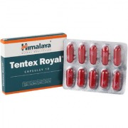 Himalaya Ten tex Royal Set of 4 - 10 Capsules each (Ayurvedic)