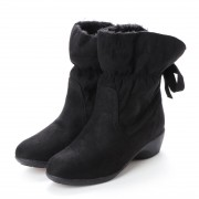 ウイルソンリー WILSON LEE 婦人靴 (ブラックスエード) レディース