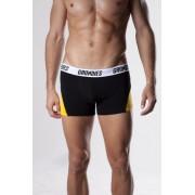Grundies Active Boxer Brief Underwear Black/Yellow