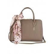 MONA Handtasche mit abnehmbarem Tuch, beige