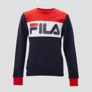FILA Conello sweater blauw/rood kinderen Kinderen - blauw/rood - Size: 176