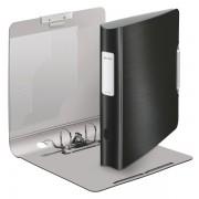 Biblioraft LEITZ Active Style 180, 50mm, plastic PP - negru satin