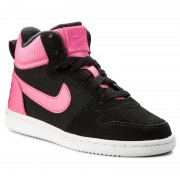 Pantofi NIKE - Court Borought Mid (PS) 845108 006 Black/Pink Blast