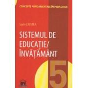 Sistemul de educatie/invatamant. Volumul 5