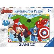 Puzzle Ravensburger - Razbunatorii, 24 piese (05522)
