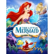 The Little Mermaid Coloring Book: Coloring Book for Kids and Adults, Activity Book, Great Starter Book for Children, Paperback/Juliana Orneo