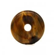 Donut (fánk) medál - Tigrisszem