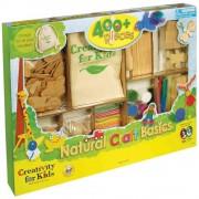 Set creatie copii FABER-CASTELL Craft Lemn, FC001669
