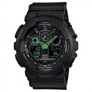 Reloj para hombre Casio G-Shock GA-100C-1A3 - Negro y verde