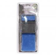 Merkloos Blauwe verstelbare kofferriem extra sterk - Kofferriemen
