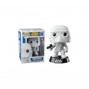 Funko Pop Snowtropper Star Wars Bobble Head Stormtropper Version Clasica-Blanco