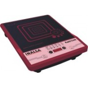 Inalsa Rapid Cook Induction Cooktop(Black, Maroon, Touch Panel)