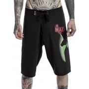 Pantaloncini Uomo (costume da bagno) KILLSTAR - Marilyn Manson - Demone - Nero - K-BTM-U-2516
