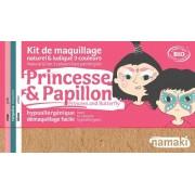 NAMAKI Kit maquillage bio 3 couleurs - Princesse et Papillon