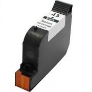 Съвместима черна мастилена касета 51645AE, HP 45 /45/