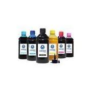 Kit 6 Tintas Sublimáticas para Epson L800 Bulk Ink CMYK 500ml