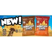 Muscle Moose Mountain Chips diétás egészséges nassolnivaló hozzáadott fehérjével 23g