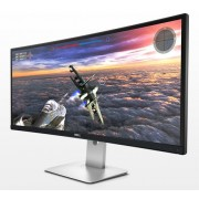 "Monitor IPS, DELL 34"", U3415W-B, Curved, 5ms, 2Mln:1, HDMI/DP, USB, Speakers, 21:9, 3440x1440 (U3415W-14)"