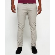 Superdry Rookie Chino Trousers Light Grey