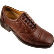 Action Synergy Fashion Line Pn329 Lace Up Shoes For Men(Brown)