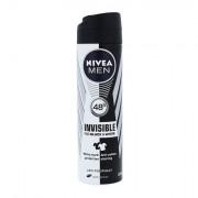 Nivea Men Invisible For Black & White deodorante antitraspirante spray 150 ml uomo